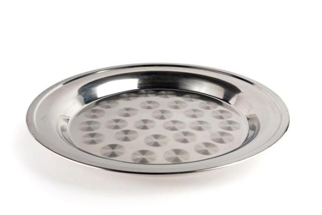Where to find 14  ROUND STAINLESS PASSING TRAY in Charleston
