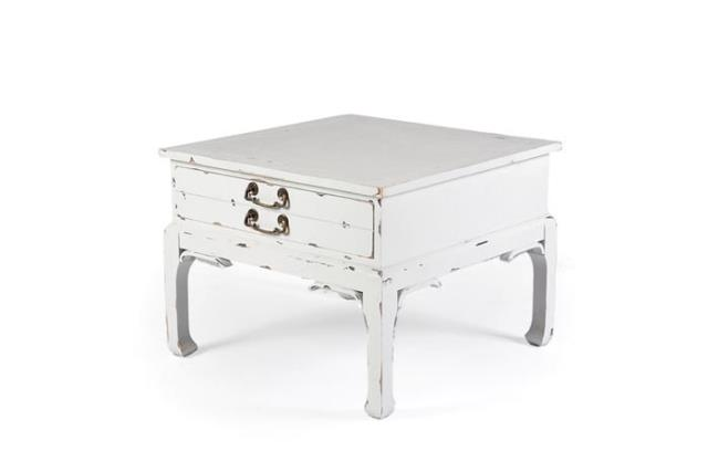 Where to find ANTIQUE WHITE TABLE W  DRAWER in Charleston