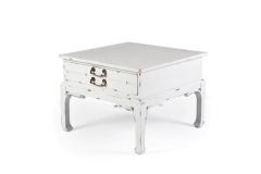 Rental store for ANTIQUE WHITE TABLE W  DRAWER in Charleston SC