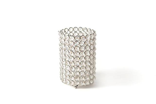 Where to find CRYSTAL CANDLE HOLDER 6.5 H X 4 W  SMALL in Charleston
