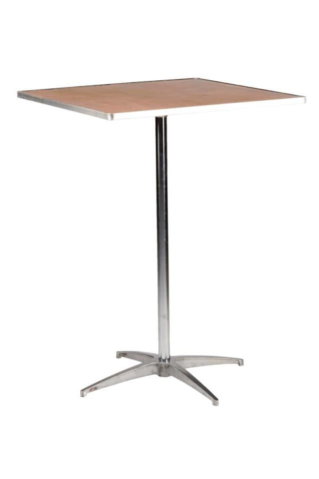 Where to find TALL COCKTAIL TABLE, SQUARE 32  X 32 in Charleston