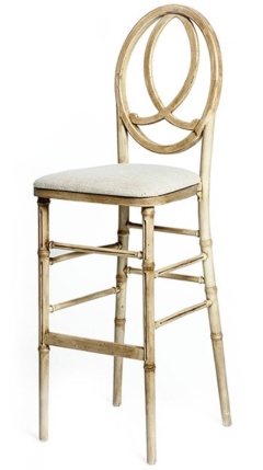 Rental store for Infinity Barstool - Antique Natural in Charleston SC