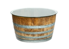 Rental store for Wine Barrel Coffee Table in Charleston SC