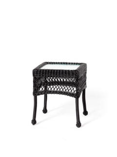 Rental store for Wicker Side Table - Charleston Green in Charleston SC