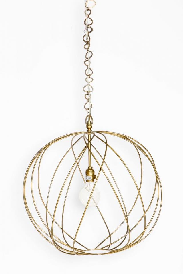 Where to find GOLD GAIL SPHERE CHANDELIER in Charleston