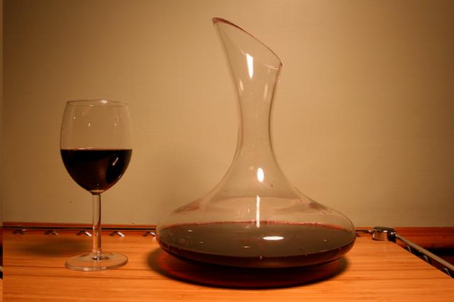 Where to find CRYSTAL WINE DECANTER in Charleston