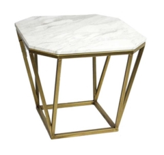 Rental store for Madison Collection Side Table - Marble Top in Charleston SC
