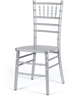 Rental store for Chiavari Chair - Silver in Charleston SC