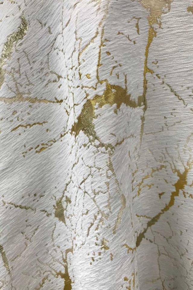 Where to find Carrara Marble Jacquard - Gold in Charleston