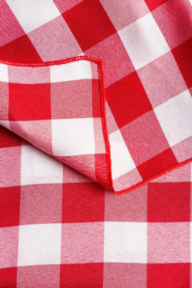 Where to find Gingham Check - Red   White in Charleston