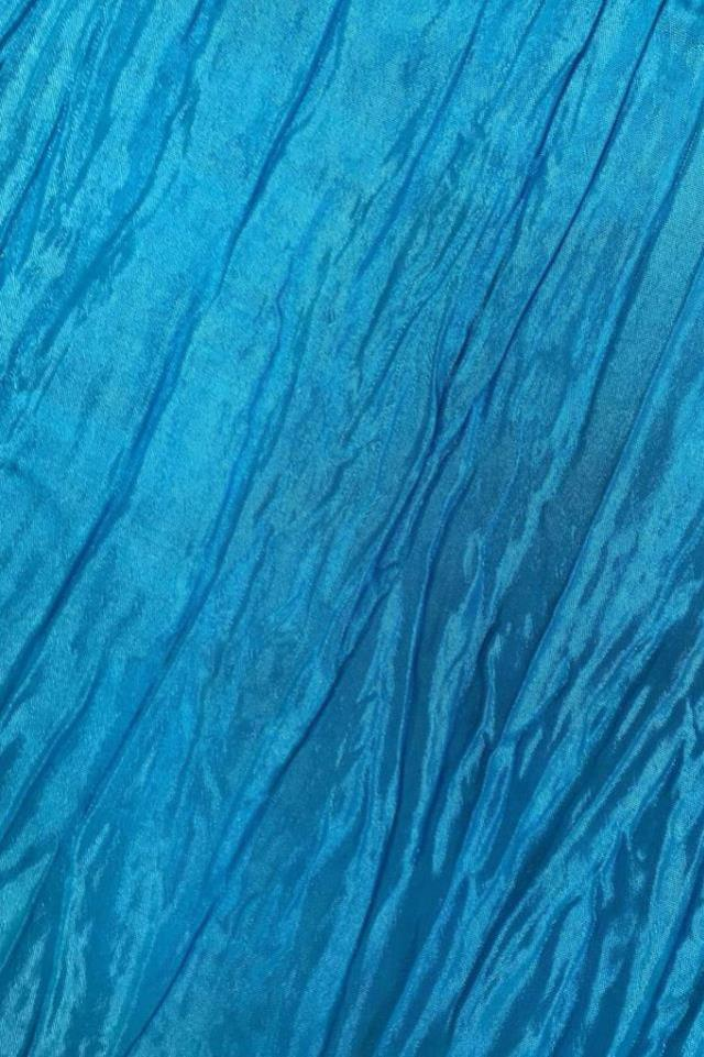 Where to find Crinkled Matte Taffeta - Turquoise in Charleston