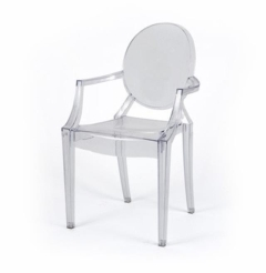 Rental store for Ghost Arm Chair  Lucite in Charleston SC
