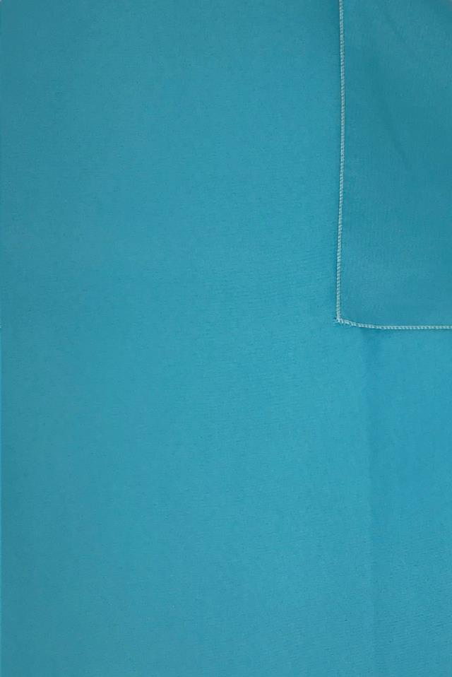 Where to find Solid Polyester - Turquoise in Charleston