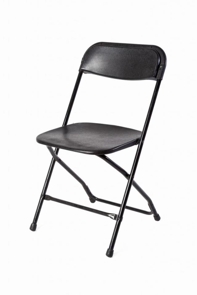 Where to find BLACK METAL FOLDING CHAIR in Charleston