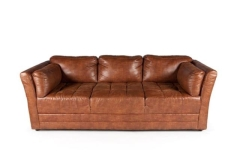 Rental store for CIGAR LOUNGE BROWN LEATHER COUCH in Charleston SC