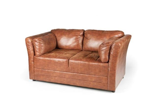Where to find CIGAR LOUNGE BROWN LEATHER LOVE SEAT in Charleston