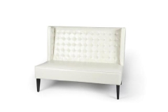 Rental store for IVORY LEATHER SETTEE in Charleston SC