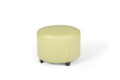 Rental store for ROUND OTTOMAN, APPLE GREEN, 22 W X 16 H in Charleston SC