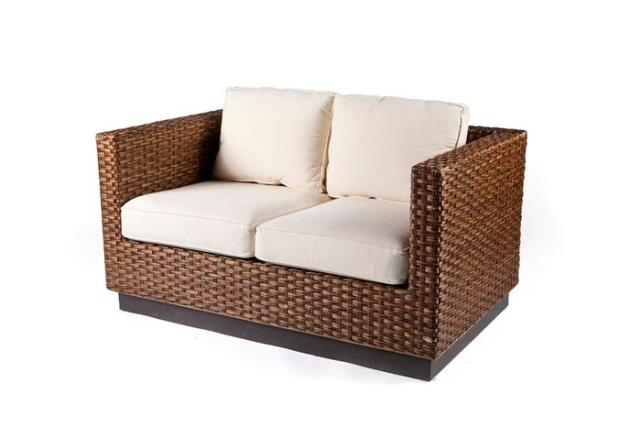 Where to find RATTAN LOVE SEAT in Charleston