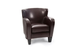 Rental store for Chocolate Leatherette Arm Chair in Charleston SC