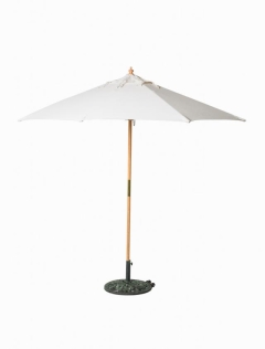 Rental store for Canvas Market Umbrella - Natural Wood, 9 in Charleston SC