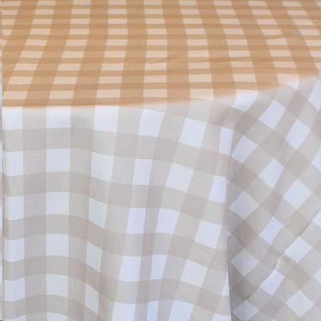 Rent Gingham Check Linen